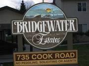 Bridgewater Estates 2 bed / 2 bath End Unit Townhome