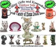 Valley Gifts and Keepsakes Outdoor Sale