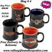 Harley Davidson Mugs